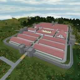 Roman Military Fort Minecraft Map & Project