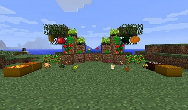 Plants And Foods Mod