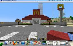 iron hotel/mcdonalds Minecraft Map & Project
