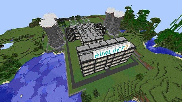 Nuclear power plant version 2 5 TEKKIT CLASSIC 3 1 2 Minecraft Map