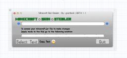 Minecraft Skin Stealer BETA 1.1 COMING SOON! (Minecraft Tool) Macintosh