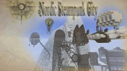 Nordic Steampunk City Minecraft Map & Project