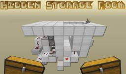 Hidden Storage Room for Survival Minecraft Project