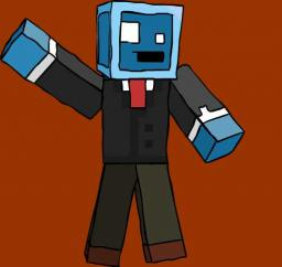 My first drawing :D [And ten subs special] Minecraft Blog