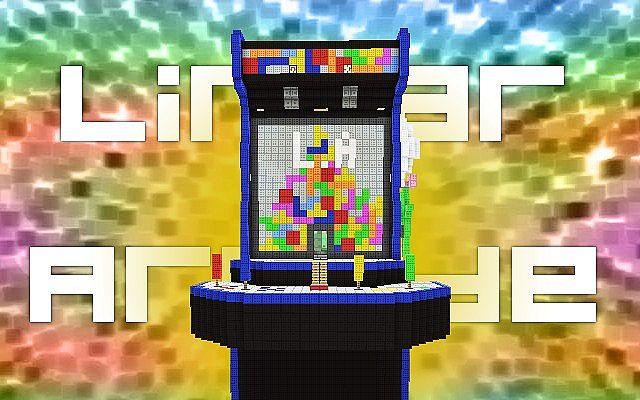minecraft arcade map