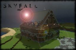 Skyfall Mansion [007 Inspired] + Download Minecraft Map & Project