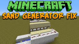 Sand Generator Fix For 1.4.5 Tutorial Minecraft Map & Project
