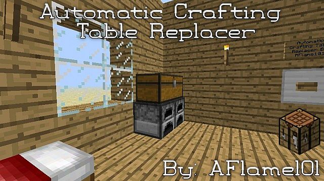 Automatic Crafting Table Replacer!