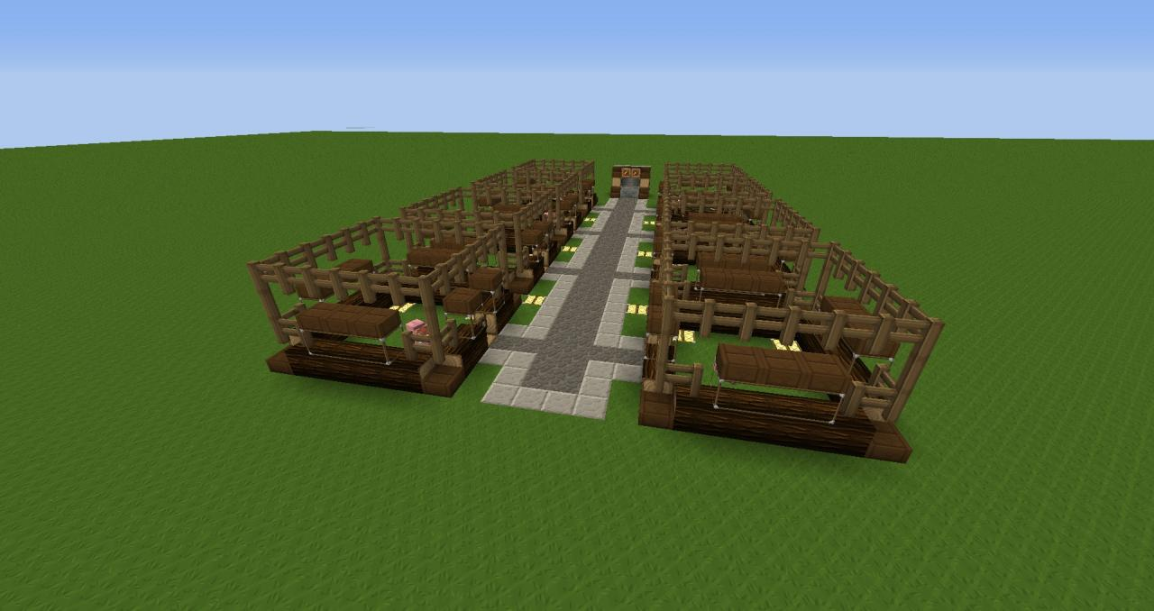 Pig Stable Minecraft Project