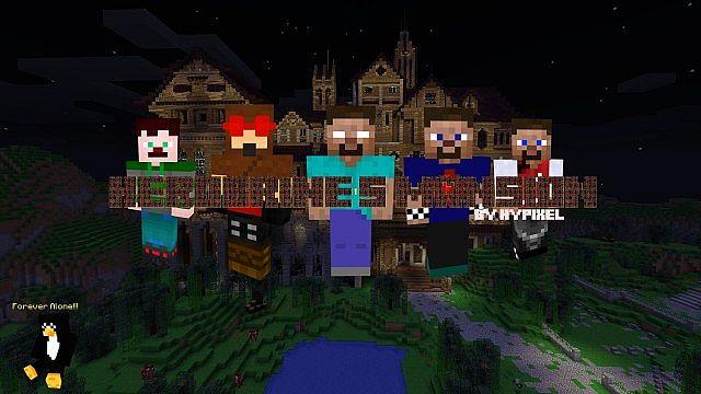 Herobrine S Mansion Poster Minecraft Blog
