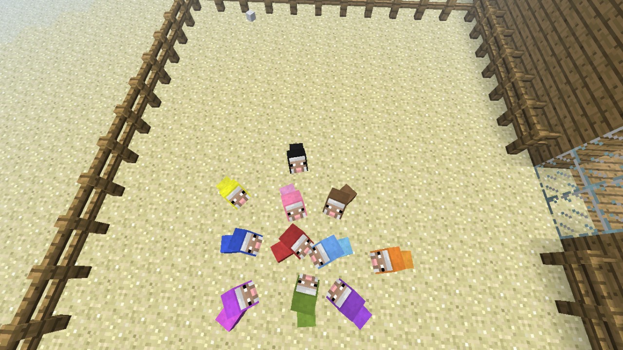 Baby Sheep Farm Minecraft Project