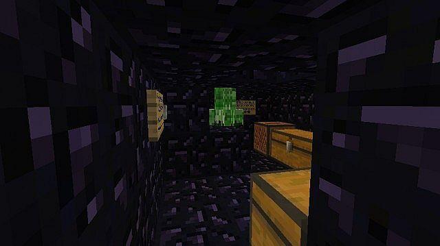 Inside of creeper grinder