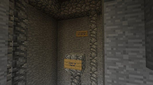 Abandoned Mineshaft Parkour Minecraft Project