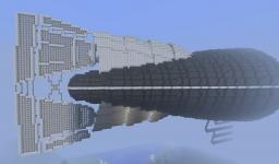 Armored Steampunk Airship [Incomplete] Minecraft Project