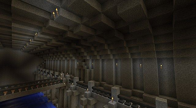 Underground Complex Of The Old Ruined Temple Minecraft Project