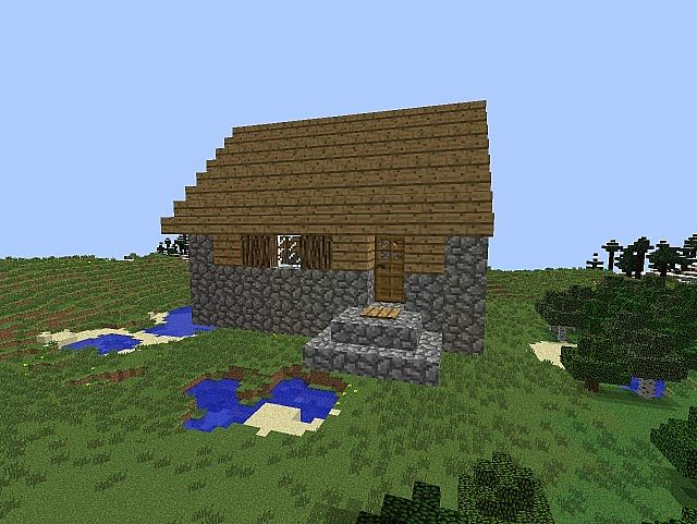 Minecraft npc village house designs for Village home designs