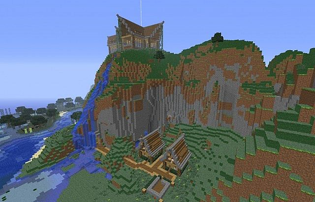 Keralis Mountain House With Other Modifications  D Minecraft Project