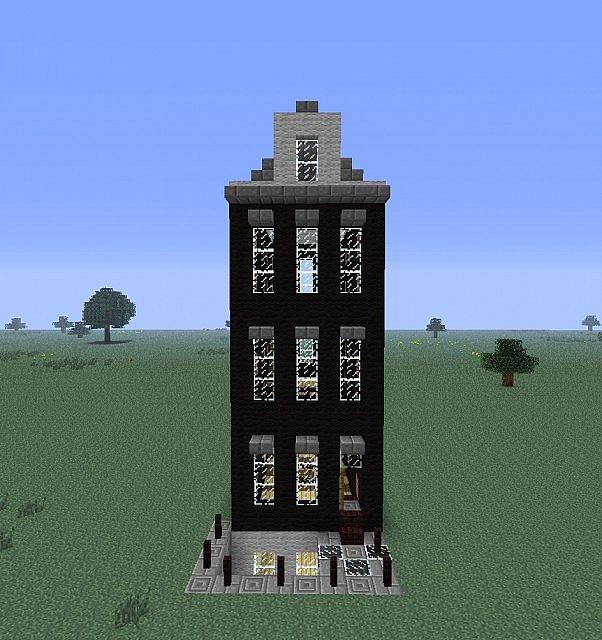 Modern Dutch House Minecraft Project