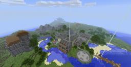 An Epic open world adventure! Minecraft Map & Project