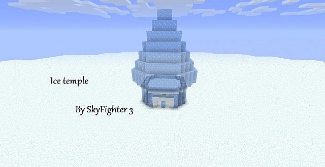 Ice Temple Minecraft Project