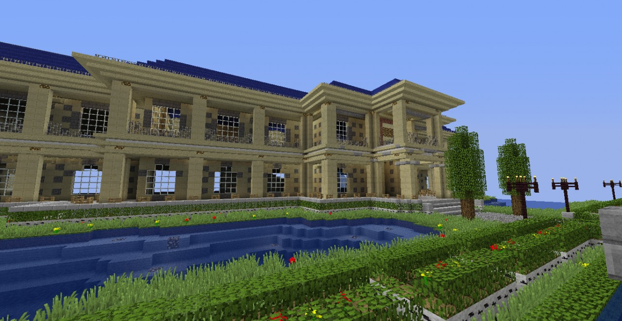 A Minecraft House Minecraft Project