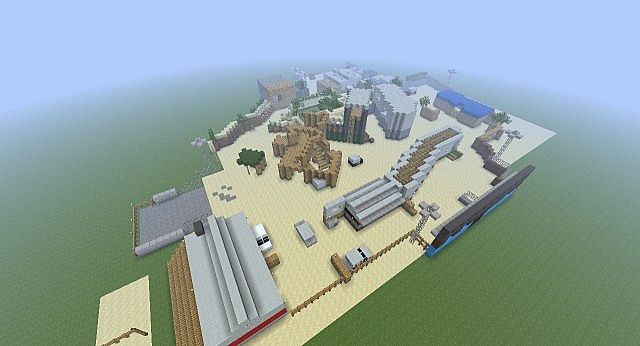 Call Of Duty Black Ops Firing Range Minecraft Project