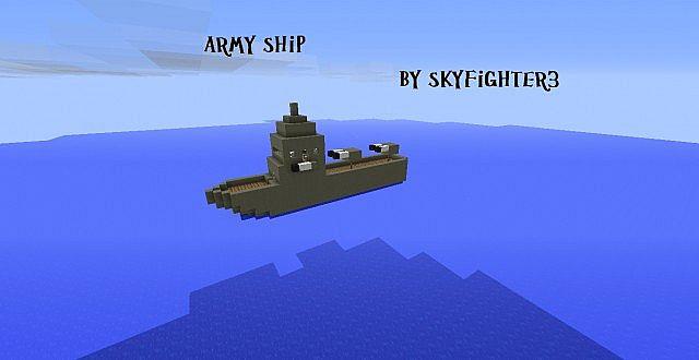 minecraft ships mod how to make a ship