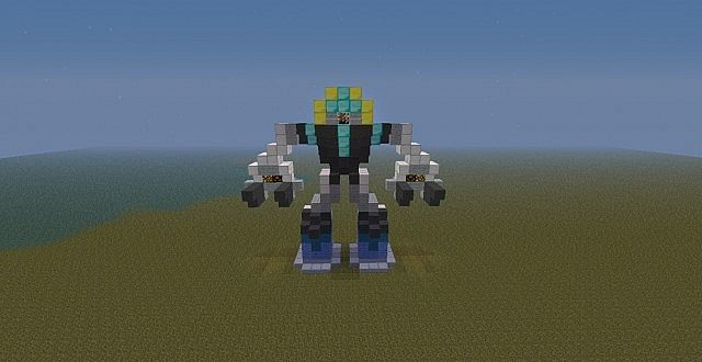 small mech suit. Minecraft Project