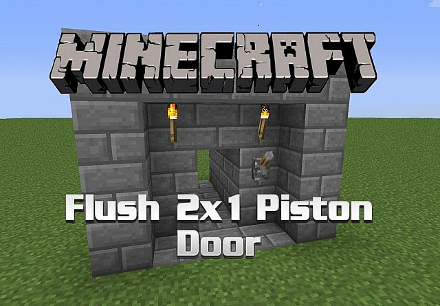 how to create a sticky piston in minecraft
