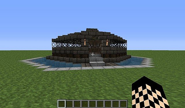 simple old house design minecraft project