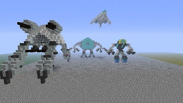 Mech army! Minecraft Project