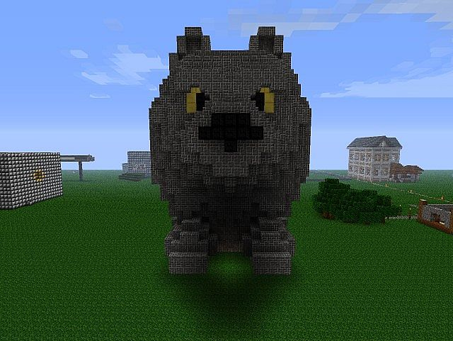 how to make a wolf on minecraft