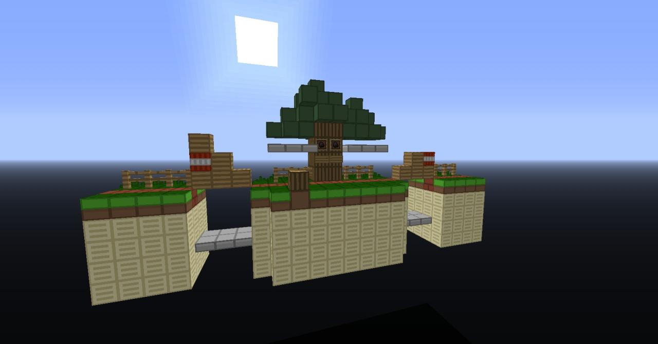 Super Smash Bros Stage-Whispy Woods Minecraft Project