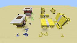 Block swapper 3x3, 4x4, 6x6, 11x11 [v1.4.7] Minecraft Map & Project