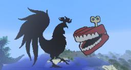 Rooster teeth logo Minecraft