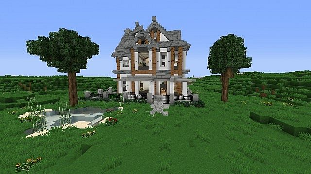 Victorian House The Grandfather Minecraft Project