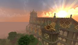 Huge Cathedral Minecraft Project