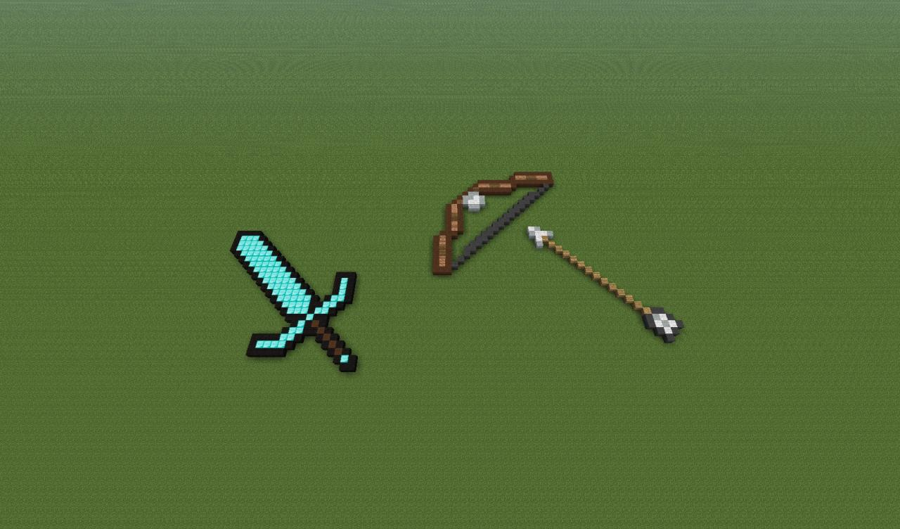 Minecraft Weapons Minecraft Project