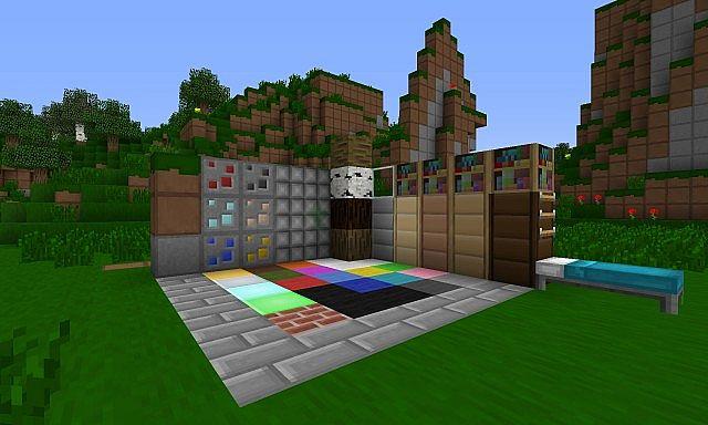 The blocks I have textured thus far