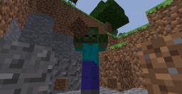 1.4 Zombie Holding Dirt Minecraft Map & Project