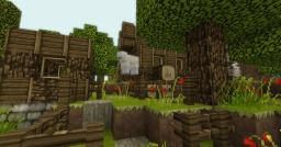 PARADISE COTTAGE Minecraft Map & Project