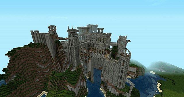 Minecraft Ruined Building Schematic