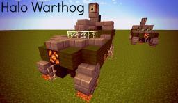 M12 FAV Warthog - Halo Vehicle Minecraft Map & Project