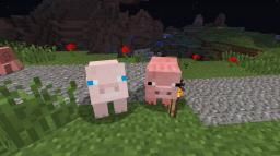 rare albino pigs and cows texture pack (needs randomob support)