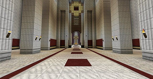 Marble columns are marble.