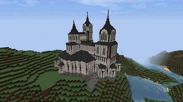 Medieval Romanesque Mansion Requires Tekkit Minecraft