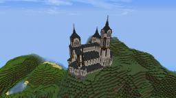 Medieval Romanesque mansion (requires Tekkit) Minecraft