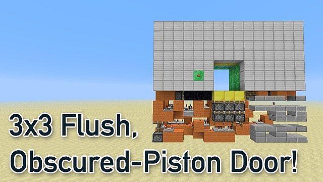 Ultra-Compact, 3x3 Flush Obscured-Piston Door - [12x15x4] Minecraft on piston motor, piston symbol, piston drawing, piston design, piston heart, piston ring diagram, piston blueprint, piston exploded view, piston components, piston pump diagram, piston assembly, piston valve, piston table, piston tool, piston illustration, piston parts, piston power,