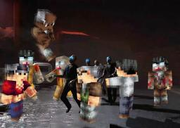Black Ops 2 Zombies Trailer in Minecraft