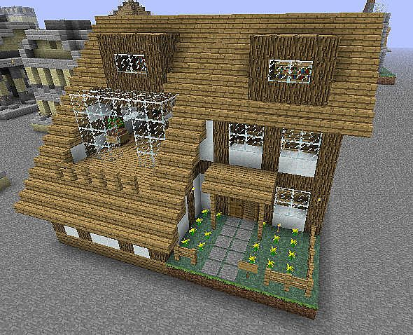 Small house minecraft project - Minecraft house ideas ...